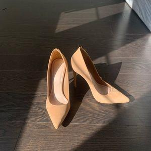 Aldo Shoes - Pointed Stiletto Nude Heels